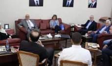 بهية الحريري تعقد اجتماعا تنسيقيا بمجدليون للبحث بقضايا شبكات المياه والصرف الصحي