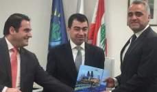 تسلم وتسليم في هيئة ادارة قطاع البترول بين شباط ونصر