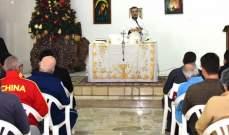 قداس احتفالي في سجن رومية لمناسبة عيد الميلاد