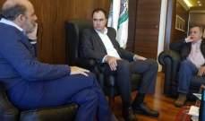 الصراف بحث مع عضو المجلس السياسي بالوطني الحر في حاجات ابناء عكار