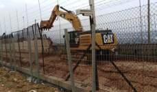 النشرة: الجيش الاسرائيلي استأنف أعمال الحفر مقابل كفركلا