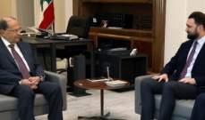 تيمور جنبلاط من بعبدا: نثمن موقف الرئيس عون ونؤكد على العلاقة الإيجابية معه