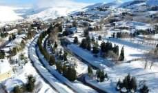 التحكم المروري: كل الطرق إلى مراكز التزلج بكفردبيان سالكة أمام جميع المركبات