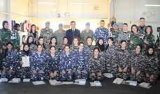القطاع الشرقي باليونيفيل نظم دورة تدريب للدفاع عن النفس لمجندات بقوى الأمن وأمن الدولة