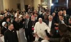 البابا فرنسيس دعا في قداس بالرباط المسيحيين الى عيش حوار الخلاص