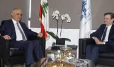 علي حسن خليل عرض مع هيل ديفيد الأوضاع العامة في لبنان والمنطقة