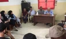 فيصل: لصيانة امن المخيمات بلبنان والحفاظ على الاستقرار الامني