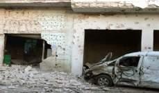 سانا: إصابة مدني ودمار كبير بالمنازل جراء اعتداء بالصواريخ على مدينة السقيلبية