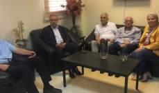 فقيه ووفد مرافق عرضوا مع مدير مستشفى صيدا الحكومي لوضع الموظفين ومشاكلهم
