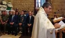 قداس في القليعة لمناسبة ذكرى مرور 11 عاما على وفاة الضباط الاسبان الستة