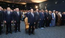 الرئيس عون: ساعة الحساب مع الفساد حانت ولا تهاون مع تحقيق المكاسب غير المشروعة