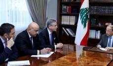 الرئيس عون عرض مع وفد من البنك الدولي خطة النهوض الاقتصادي