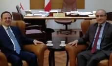 كيدانيان عرض وسفير تونس التعاون السياحي