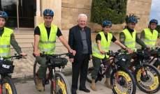 بلدية الميناء أطلقت وحدة شرطة على الدراجات الهوائية