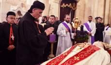 الراعي ترأس في بكركي صلاة المساء القيامية بمشاركة الاساقفة والمؤمنين