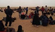 النشرة: عودة مئات الاسر السورية من الاردت إلى بلادهم عبر ممر جليغم