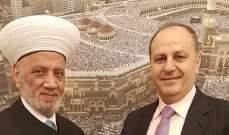 المفتي دريان التقى الأمين العام للمجلس الأعلى للدفاع