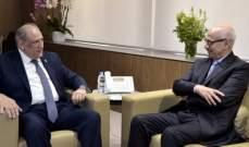 الجراح التقى سفير المغرب وعرض معه العلاقات الاعلامية