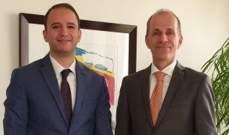 خضر: رفع الحظر عن زيارة الهولنديين لبعلبك من قبل سفارة بلادهم