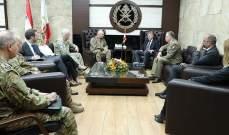 قائد الجيش بحث مع وكيل الأمين العام للأمم المتحدة بالأوضاع العامة