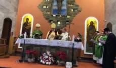 سويف التقى مسؤولين روحيين وزمنيين في اليونان وترأس قداس عيد مار مارون