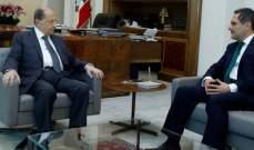الرئيس عون استقبل رئيس لجنة الرقابة على المصارف