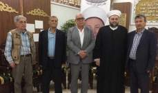 """الشيخ جبري عرض مع وفد """"الانتفاضة الفلسطينية"""" التطورات الإقليمية"""