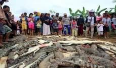 قتلوا 292 تمساحا انتقاما لصديقهم