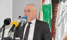 جبق: العقوبات على حزب الله لن تنعكس على الوزارة لأنني لست حزبيا