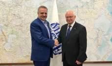 أرسلان من موسكو: نؤكد على أهمية الاستثمارات الروسية في لبنان