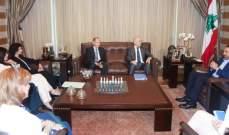 الحريري يستقبل الوفد اللبناني الرسمي الذي سيشارك بالمنتدى السياسي بنيويورك