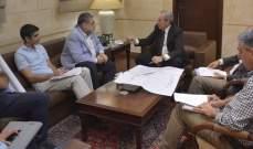 الموسوي:بحثنا مع رئيس مجلس الانماء والاعمار في شؤون تتعلق بمدينة صور وقضائها
