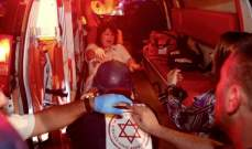 مقتل إسرائيلية نتيجة لسقوط صاروخ على مبنى اشتعلت فيه النيران بعسقلان