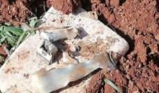 النشرة: العثور على بقايا صاروخ في وادي حوش الغنم في زحلة