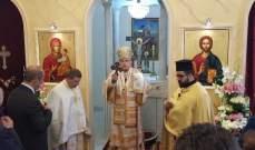 درويش احتفل بعيد القديس يوحنا المعمدان في باب مارع