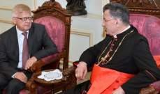الراعي التقى السفير التركي وعرض مع زاسبكين لأهمية تثبيت حل سلمي بسوريا