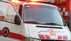 الدفاع المدني: نقل جثة مواطن من داخل منزله في كفرنبرخ إلى المستشفى