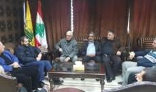 ضاهر استقبل اللجنة الشعبية لقوى التحالف الفلسطيني:لإعادة إعمار حي الطيرة