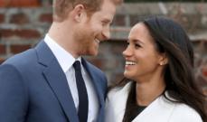 زفاف ملكي في بريطانيا للأمير هاري والممثلة الأميركية ميغان ميركل