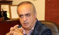 وهاب أكد التمسك بسقف الدولة: الرئيس عون ضمانتنا لتطبيق القوانين