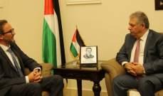 أشرف دبور بحث مع سفير بولندا بلبنان الاوضاع الحياتية والمعيشية بلبنان