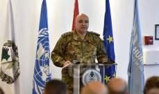 قائد الجيش: احترام الجيش لشرعة حقوق الانسان مقدس
