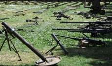 سانا: العثور على أسلحة أميركية وتركية من مخلفات المسلحين بأرياف دمشق ودرعا