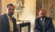 كرامي بحث مع حزوري موضوع انتخاب مفت جديد لطرابلس والشمال
