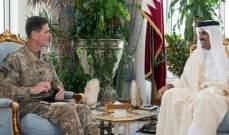 فوتيل شكر بن حمد على دور قطر بمكافحة الإرهاب من خلال قاعدة العديد الجوية