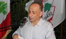 ذبيان: لإستعادة العلاقة الطبيعية مع سوريا والتنسيق بين الجيشين بمواجهة الإرهاب