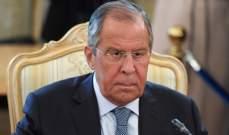 لافروف انتقد خطوات واشنطن غير الشرعية:لنظام سوريا الحق بتصفية إرهابيي إدلب