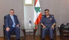اللواء عثمان التقى كوبيش وعرض معه الاوضاع الامنية
