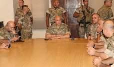 قائد الجيش تفقد مراكز فوج الحدود البرية بجرود بعلبك وأشاد بإرادة العسكريين وكفاءتهم