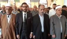 الطائفة العلوية أحيت عيد الفطر بجبل محسن